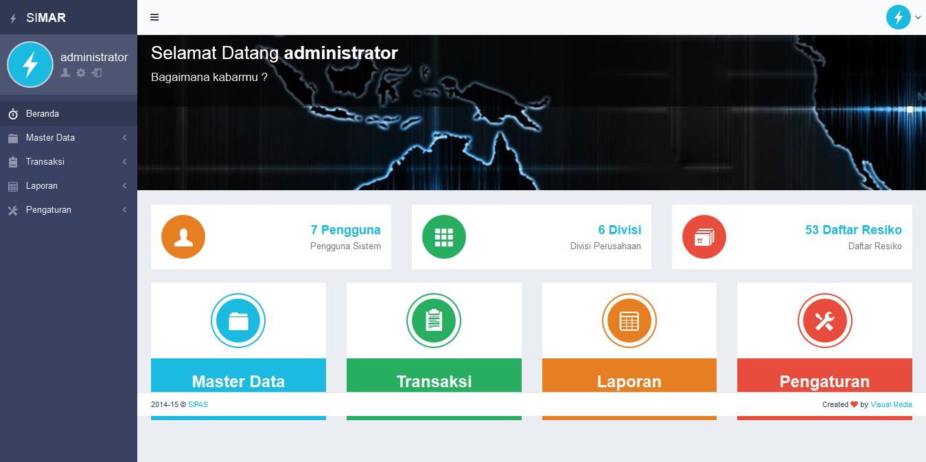 SIMANRISK (Sistem Manajemen Risiko)