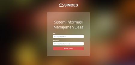 SIMDES Sistem Informasi Manajemen Desa